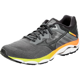 Mizuno Wave Inspire 16 Shoes Men, castlerock/phantom/safety orange